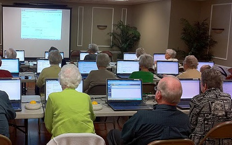 Seniors Learn New Technology