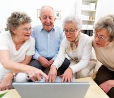 Seniors Using Technology